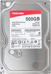 Жёсткий диск 3.5 Toshiba HDWD105UZSVA, HDD 500Gb