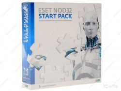 Антивирус ESET NOD32 START PACK лицензия на 1 год на 1ПК