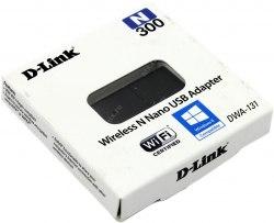 Сетевая карта D-Link DWA-131, Беспроводная, 300M, USB