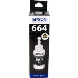 Чернила Epson C13T66414A L100/110/120/1300/132/200/210/222/300/312/350/35 5/362/366/456/550/555/566 черный