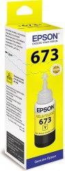 Чернила Epson C13T67344A L800/1800/810/850 желтый