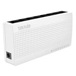 Сетевой коммутатор Tenda Сетевой коммутатор Tenda S8 ,Switch 8 port 10/100 Mb, Auto MDI/MDI-X, desktop, ext. P