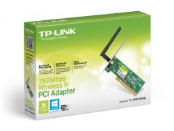 Сетевая карта TP-Link TL-WN751ND Беспроводная 150m PCI