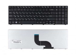 Клавиатура для ноутбука Acer Aspire E1-531/ E1-521/ E1-571 (совместима с 5810T), RU, черная