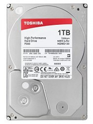 Жесткий диск TOSHIBA HDWD110UZSVA P300 High-Performance 1000ГБ 35 7200RPM 64MB SATA-III