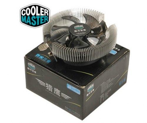 Система охлаждения CoolerMaster Cooler for Socket 1156/1155/1150/775, 65W, 9cm, 2200rpm, 25dBA, 40.9CFM