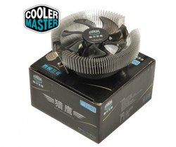 Система охлаждения CoolerMaster Cooler for Socket 1156/1155/1150/775, 65W, 9cm, 2200rpm, 25dBA, 40.9CFM