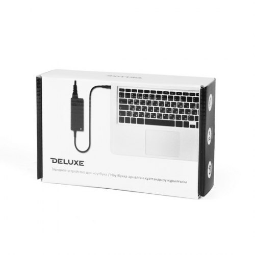 Персональное зарядное устройство Deluxe DLAS-342-5525, ASUS, 19V/3.42A 65W 5.5*2.5, Чёрный