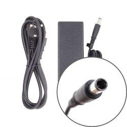 Персональное зарядное устройство Deluxe DLHP-474-7450P, HP, 19V/4.74A 90W 7.4*5.0 (pin inside), Чёрный, Цветная коробка