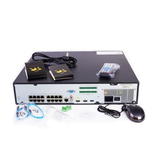 Сетевой видеорегистратор EAGLE EGL-NH7016-HP
