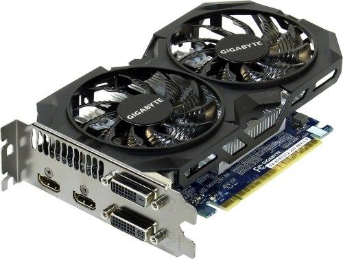 Видеокарта Gigabyte PCI-Ex GeForce GTX 750 Ti 2048MB DDR5 (128bit) (1111/5400) (2 x DVI, 2 x HDMI) (GV-N75TOC-2GI)
