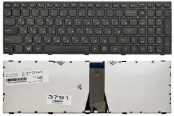 Клавиатура для ноутбука Lenovo IdeaPad G50-70, RU, черная