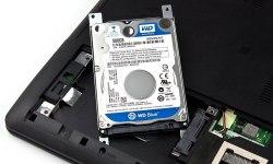 Замена жесткого диска ноутбука + HDD