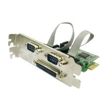 Контроллер PCI-E to LPT + 2 COM port