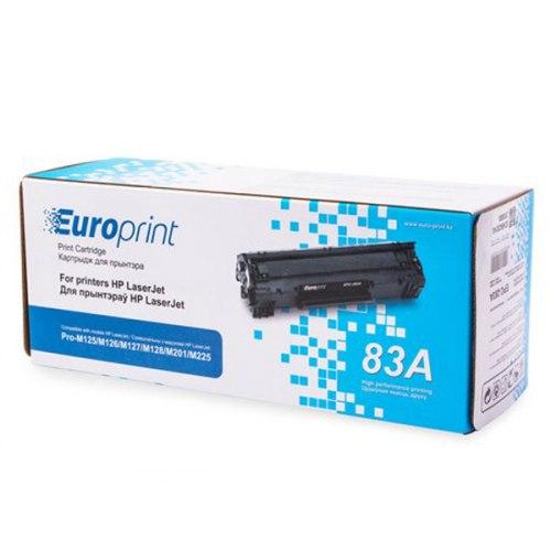 Картридж Europrint EPC-283A, Для принтеров HP LaserJet Pro M125/M126/M127/M128/M201/M225, 1500 страниц.