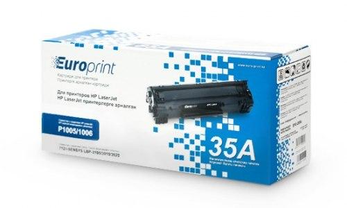 Картридж Europrint EPC-435A, Для принтеров HP LaserJet P1005/P1006, 1500 страниц.