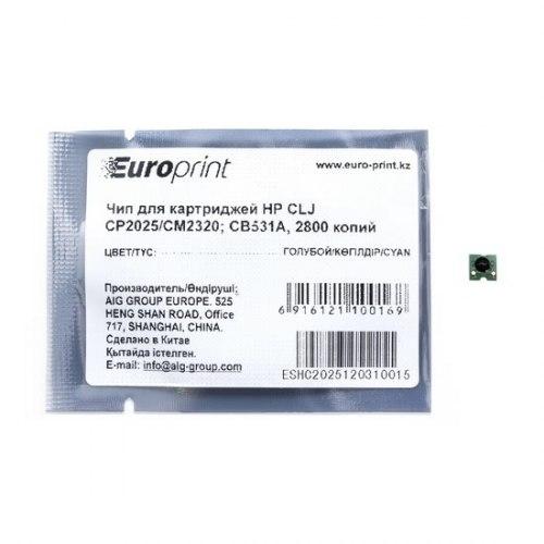 Чип Europrint HP CC531A