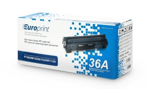 Картридж Europrint EPC-436A, Для принтеров HP LaserJet P1505/M1120/M1522, 2000 страниц.