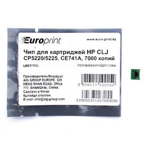 Чип Europrint HP CE741A