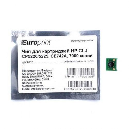 Чип Europrint HP CE742A