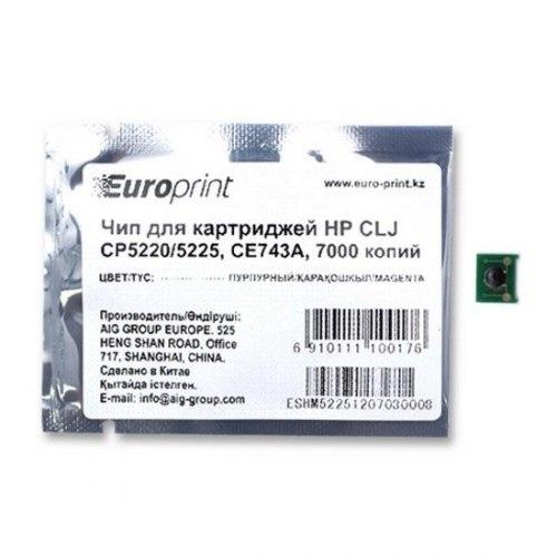 Чип Europrint HP CE743A