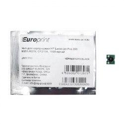 Чип Europrint HP CF210A black