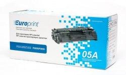 Картридж Europrint EPC-505A, Для принтеров HP LaserJet P2035/P2055, 2300 страниц.