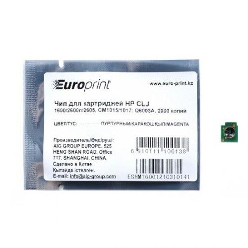 Чип Europrint HP Q6003A