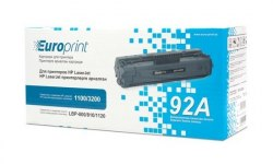 Картридж Europrint EPC-4092A, Для принтеров HP LaserJet 1100/3200, 2500 страниц.