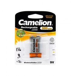Аккумулятор CAMELION Rechargeable Ni-MH NH-9V250BP1