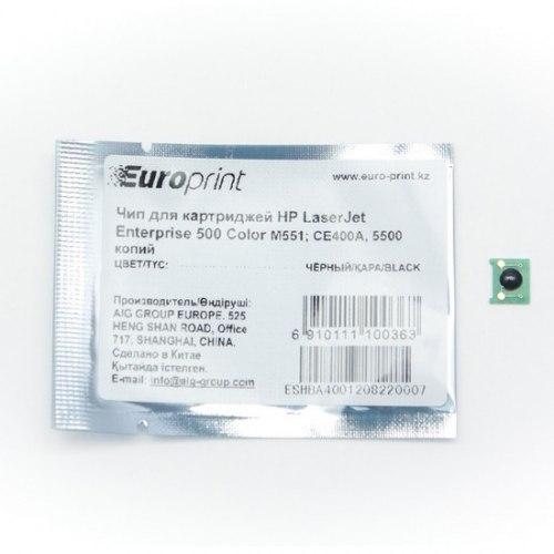 Чип Europrint HP CE400A