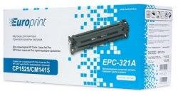 Картридж Europrint EPC-321A, Синий, Для принтеров HP Color LaserJet Pro CP1525/CM1415, 1300 страниц.