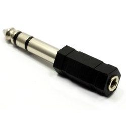 Переходник Jack 6.3 mm вилка