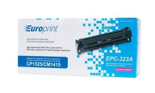 Картридж Europrint EPC-323A, Пурпурный, Для принтеров HP Color LaserJet Pro CP1525/CM1415, 1300 страниц.
