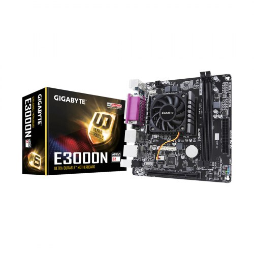 Материнская плата, Gigabyte, GA-E3000N+CPU E2-3000 (1.3 GHz)