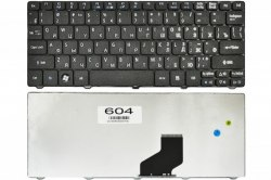 Клавиатура для ноутбука Acer Aspire One 532H/ 521/ D255/ Gateway LT21, RU, черная