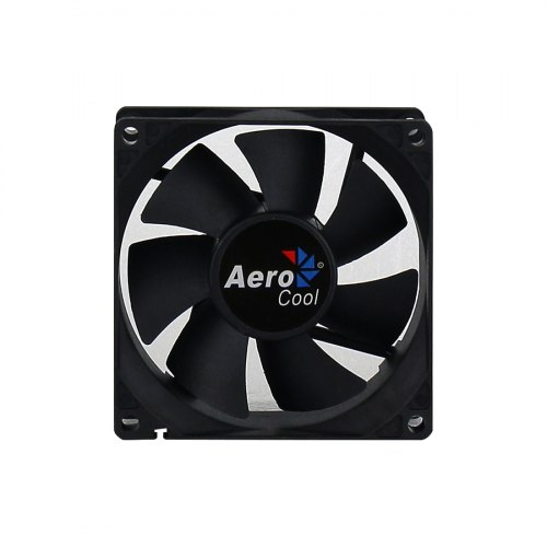 Кулер для кейса, Aerocool, Dark Force 8cm Black, 80мм, Чёрный