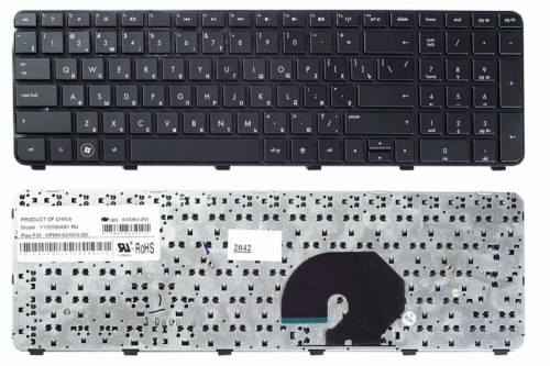 Клавиатура для ноутбука HP Pavilion DV7-6000, RU, черная