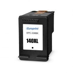 Картридж, Europrint, EPC-336BK, №140xl, Для принтеров HP DeskJet D4263/D4363, OfficeJet J5783/J6413, Photosmart C4273/C4283/C4343/C4383/C4473/C4483/C4583/C5283/D5363, 29 мл.