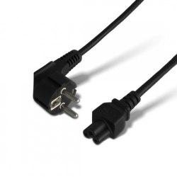 Кабель питания, С5, 3 pin, Используется в зарядных устройствах для ноутбуков и аудио-видео аппаратуре, 1.5 м.