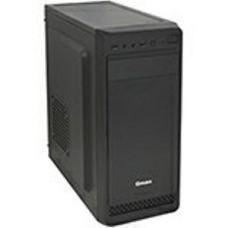 Корпус ATX midi tower Qmax KB105B, черный ,Case black