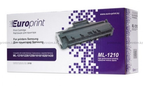 Картридж Europrint EPC-ML1210, Для принтеров Samsung ML-1210/1220/1250/1010/1020/1430; Xerox Phaser 3110, 3000 копий