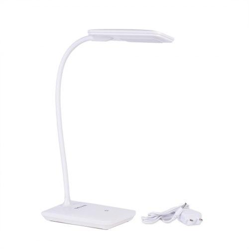 Настольная светодиодная лампа, Deluxe, DLTL-102W-6W Белый
