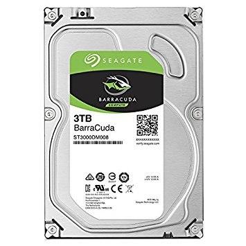 Жёсткий диск, Seagate Barracuda, ST3000DM008, HDD, 3Tb