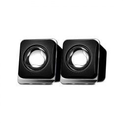 Колонки, X-Game, XS-100UB, 2.0, RMS 0.8W*2, Интерфейс Jack 3.5mm, Питание от USB, Черный,