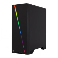 Корпус ATX mini tower AeroCool, Cylon Mini RGB, (без БП), black ,Case