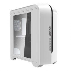 Корпус MATX midi tower GameMax, H601WB, (без БП), white ,Case
