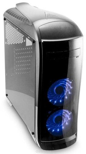 Корпус ATX midi tower 3Cott, G09, (без БП), Черный ,Case black