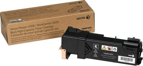 Тонер-картридж 106R01604 Xerox Phaser 6500/WC6505 (3K) Black Euro Print