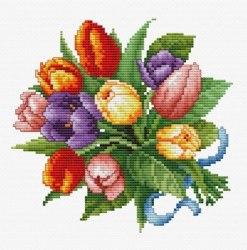 Набор для вышивания Белоснежка Тюльпаны